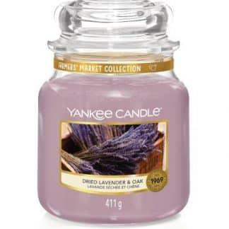 giara media yankee candle fragranza Dried Lavender & Oak