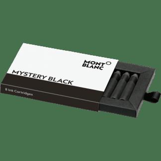 Confezione da 8 cartucce per stilografica Montblanc colore mystery black