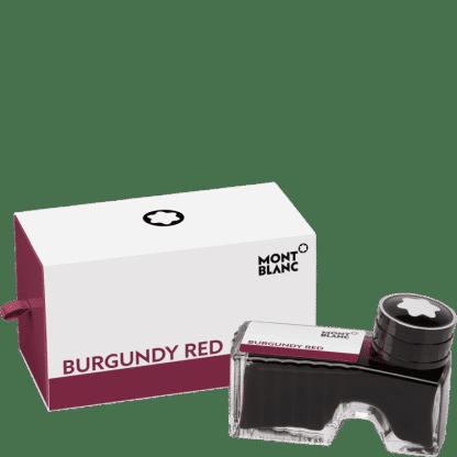 flacone d'inchistro per stilografica montblanc colore Burgundy Red