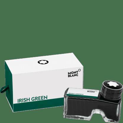 flacone d'inchistro per stilografica montblanc colore irish green