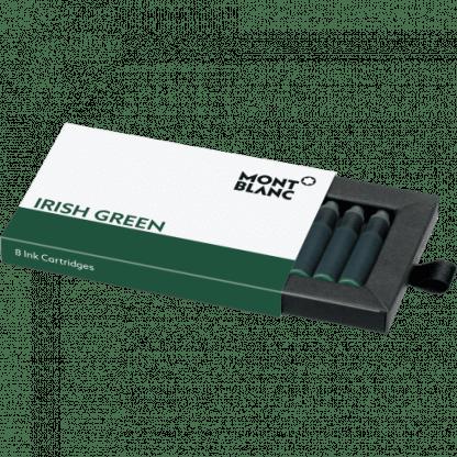 Confezione da 8 cartucce per stilografica Montblanc colore irish green