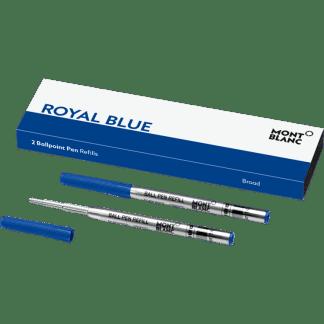 confezione da 2 refill per penna a sfera tratto broad colore royal blue