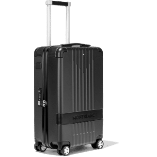 trolley Montblanc my#4810 in policarbonato con inserti in pelle