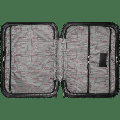 trolley Montblanc my#4810 red interno con tessuto logato Montblanc