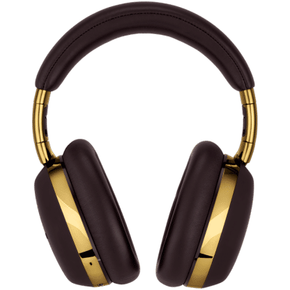 Cuffie Montblanc wireless con google assistant colore marrone