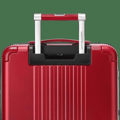 trolley Montblanc my#4810 red particolare del manico con logo montblanc