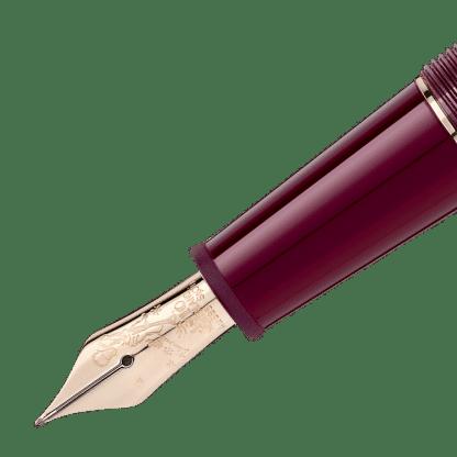 stilografica Montblanc Meisterstück Le Petit Prince particolare del pennino