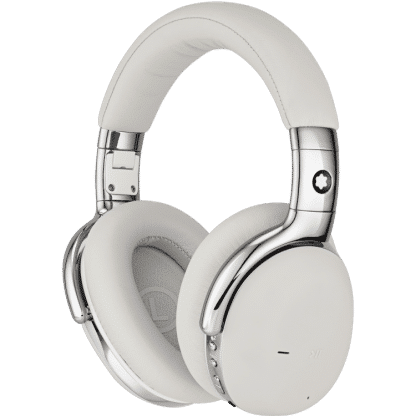 Cuffie Montblanc wireless con google assistant colore bianco