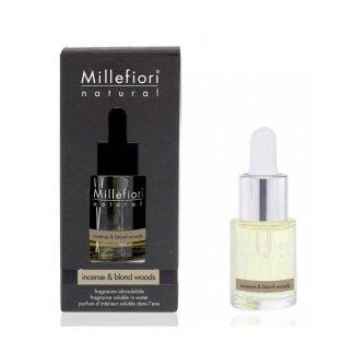 fragranza idrosolubile millefiori incense & blond woods