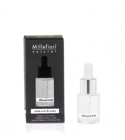 fragranza idrosolubile millefiori wild mint & tonka