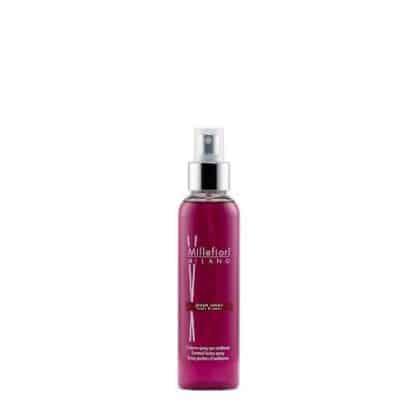 spray per ambiente millefiori fragranza grape cassis