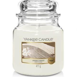 giara media yankee candle fragranza Angel's Wings