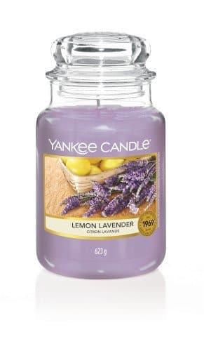 giara grande yankee candle fragranza Lemon Lavender