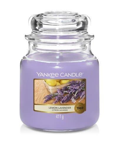 giara media yankee candle fragranza Lemon Lavender
