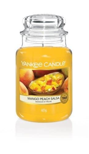 giara grande yankee candle fragranza Mango Peach Salsa