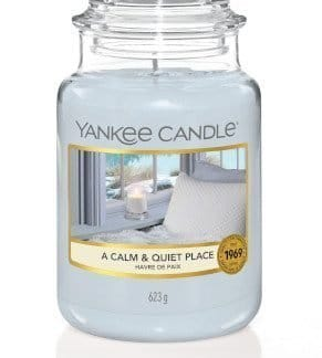 giara grande yankee candle fragranza A Calm & Quiet Place