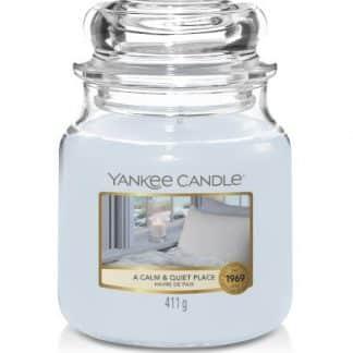 giara media yankee candle fragranza A Calm & Quiet Place