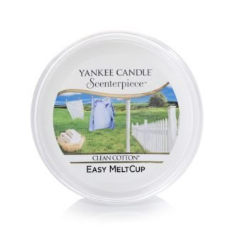 clean cotton melt cup yankee candle