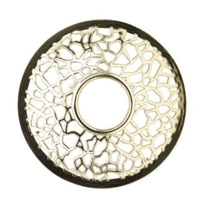 illuma lid yankee candle matrix brushed silver