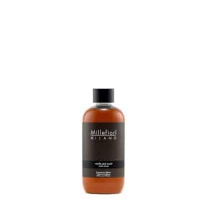 Millefiori ricarica diffusore a bastoncini Vanilla & Wood da 250 ml