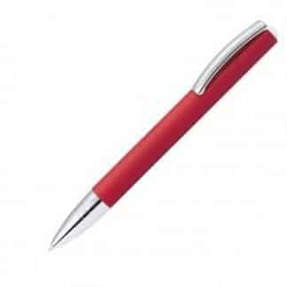 penna a sfera online vision classic colore rosso con finiture cromate