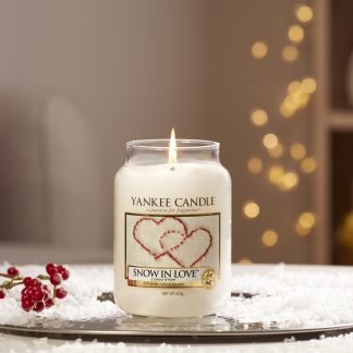 yankee candle fragranza snow in love