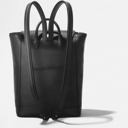 Zaino montblanc medio Meisterstuck Soft Grain colore nero retro