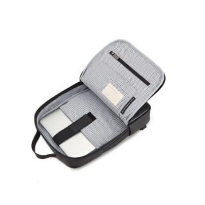 Borsa Moleskine Classic per Dispositivi 13 Pollici Nero vista interno aperto