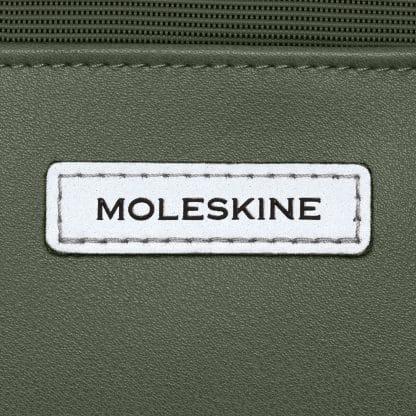 Borsa Moleskine per dispositivi da 15 pollici Verde particolare del logo