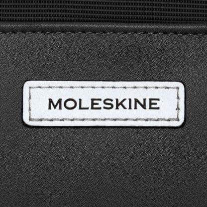 Borsa Moleskine per dispositivi da 15 pollici nero particolare del logo