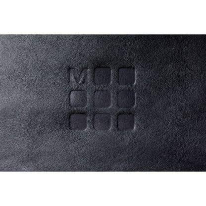 Moleskine Zaino Classic Nero particolare del logo
