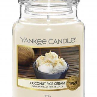 Yankee Candle giara granda Coconut Rice Cream