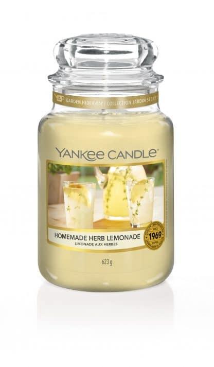 Giara grande Yankee Candle fragranza Homemade Herb Lemonade
