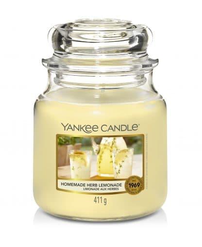Yankee Candle giara media fragranza Homemade Herb Lemonade