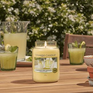 Yankee Candle Homemade Harb Lemonade immagine emozionale