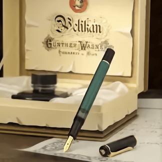 stilografica pelikan verde nera edizione storica
